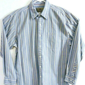 The Territory Ahead Mens Sz M Front Button Shirt